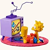TV Time The Simpsons 2008 Hallmark Ornament