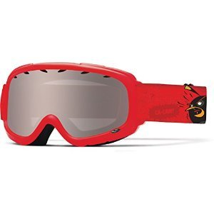 Smith Optics Gambler Junior Series Youth Snocross Snowmobile Goggles Eyewear - Red Angry Birds/Ignitor / Medium