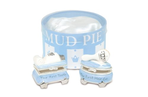 Mud-Pie Prince Tooth & Curl Treasure Box Set