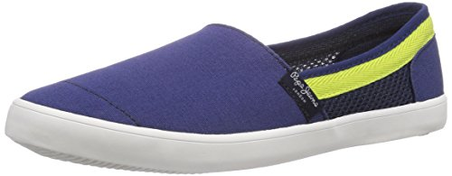 Pepe Jeans London SOHO EASY, Low-Top Sneaker bambino, Blu (Blau (552REGAL BLUE)), 39