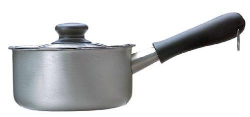 柳 宗理 ミルクパン 蓋付き つや消し (16cm)