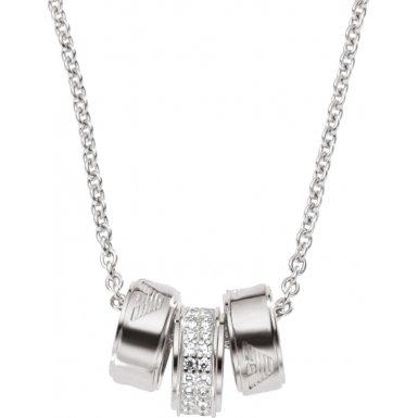Emporio Armani           FASHIONNECKLACEBRACELETANKLET, argento, colore: argento, cod. EG3046040