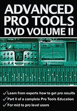 Alfred 10-Pt002 Pro Tools Dvd- Volume 2 - Music Book front-399285