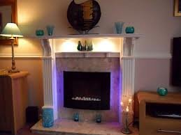 2012 7 Colour Changing Led Wall Mounted Electric Fire