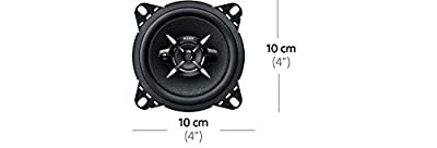 Sony 3-Wege Auto-Lautspecher mit 220 Watt Maximalleistung schwarz