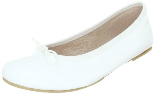 Bloch Kids Girls Cha Cha 201040, Ballerine ragazza, Bianco (Weiss (white 3)), 27
