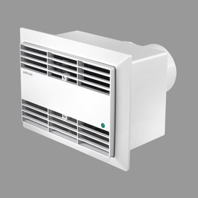 Airflow 71616501 Roomvent 100mm/4  240v WFT Centrifugal Timer Fan For 2 Room Operation       reviews and more news