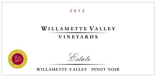2012 Willamette Valley Vineyards Estate Pinot Noir 750 Ml