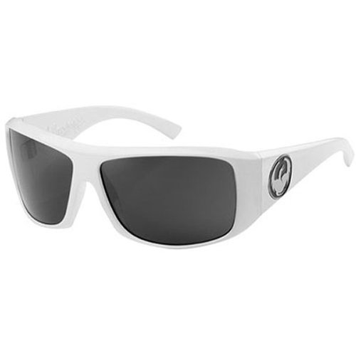 Dragon Alliance Calavera Men's Large Fit Polarized Casual Sunglasses - Color: White/Grey, Size: One Size Fits All