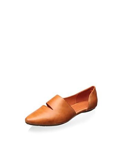 Chocolat Blu Women's Gillian D'Orsay Ballet Flat  [Orange]