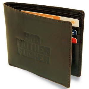 Bad Mutha Leather Wallet - Pulp Fiction Wallet