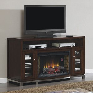 ClassicFlame Wesleyan Electric Fireplace Media Console in Meridian Cherry - 32MM6439M-C247 picture B00FGHK7SM.jpg
