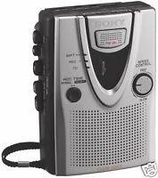 Sony Tcm400Dv Standard Cassette Tape Voice Recorder: Tcm-400Dv