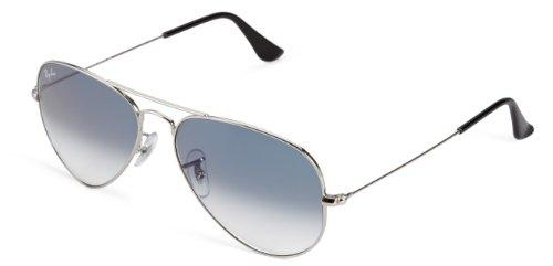 ray-ban-3025-lunettes-de-soleil-mixte-silver