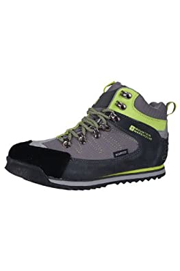 Mountain Warehouse Aztec Kids Waterproof Walking HIking Playing Travelling Sports Outddoor Boots Grey 12 Child UK