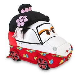 "Official Disney / Pixar Limited Edition Cars 2 Okuni Kabuki Dancer 7"" Plush Toy - 1"