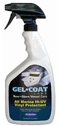 Gel Coat Labs All Marine Hi-UV Vinyl Protectant 32oz for RV's or Boats