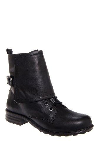 Jessica Simpson Tahira Low Heel Mid Calf Lace Up Boot