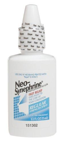 Neo-Synephrine Nasal Decongestant Spray