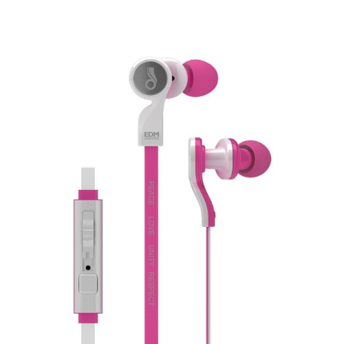 Meelectronics Edm Universe D1P In-Ear Headphones With Headset Functionality (Love/Pink)