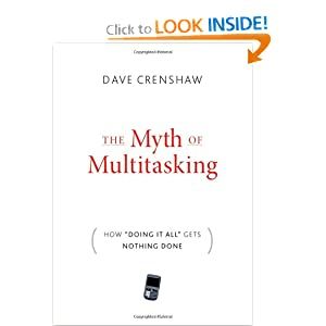 Multitasking is a Myth | Organize to Revitalize Blog