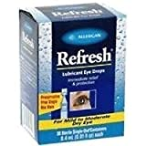 Allergan Refresh Lubricant Eye Drops 30-Count