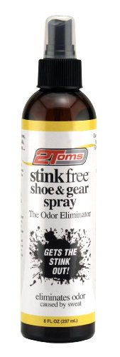 2Toms Stink Free Spray, 8 ounce bottle