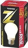 東芝 ネオボールZリアル 電球形蛍光ランプ 電球40ワットタイプ 電球色 EFA10EL8-R