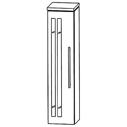 In Line Bathroom Furniture Cupboard (MNA813A5GL/R), 30cm