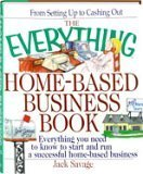 img - for The Everything Home-Based Business Book book / textbook / text book