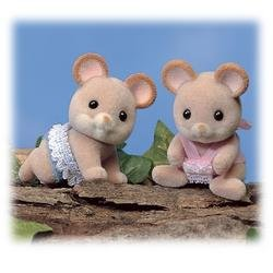 Calico Critters: Norwood Mouse Twins