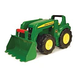 "ERTL JOHN DEERE - 21"" BIG SCOOP TRACTOR"