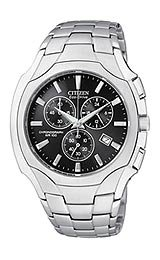 Citizen Men's AT0880-50E Stainless Steel Eco-Drive Watch