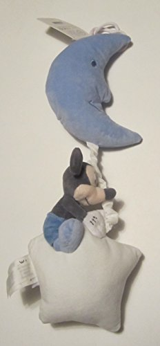 Disney Mickey Mouse Plush Musical Pull for Baby - 1