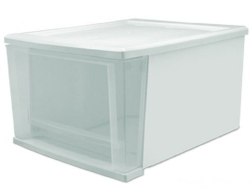 "Medium Stacking Drawer SD-30 - Set of 6 (White) (8.375""H x 12.0625""W x 14.25""D)"