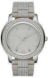 DKNY Glitz Light Grey Dial Women's Watch #NY8425