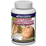 Natural Transitions Herbal Menopause Supplement Will Help You Finally Put an End to Raging Hormones, Hot Flashes and Mood Swings - Guaranteed! - 60 Count