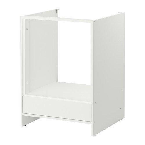 FYNDIG -Unterschrank für Backofen weiß weiß - 63x60x86 cm