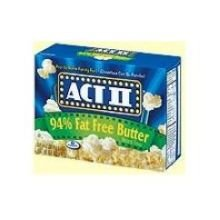 Act Ii Microwave Popcorn 16.50Oz (Pack Of 18)