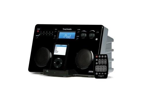 Tivoli Iyiyi High-Fidelity Am/Fm Stereo System With Alarm Clock And Ipod Dock (Black/Silver)