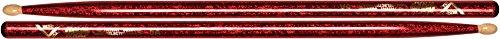 vater-vcr5a-drumsticks-5a-holzkopf-ummantelung-rot-glitzernd