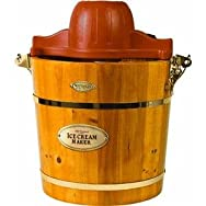 Nostalgia ProductsICMW400Old Fashioned Ice Cream Maker-VINTAGE ICE CREAM MAKER