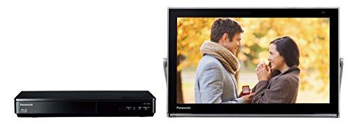 パナソニック 15V型 ポータブル液晶テレビ 防水タイプ 500GB ブルーレイディスクプレイヤー/HDDレコーダー付き プライベート・ビエラ ブラック UN-15TD6-K