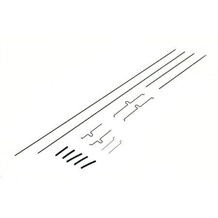 E-Flite EFL9056 Push-Rod/Pushrod Set: Ultra-Micro 4-Site