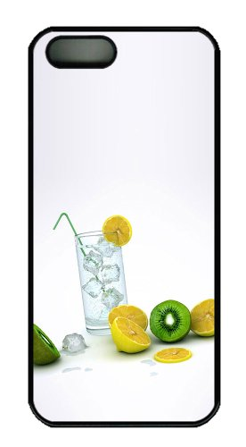 Frozen Lemons Fruit For Cheap Iphone 5S Cover Pc Black For Apple Iphone 5/5S front-814800