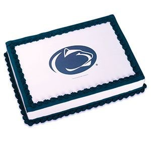 1/4 Sheet ~ Penn State Logo ~ Edible Image Cake/Cupcake Topper!!!