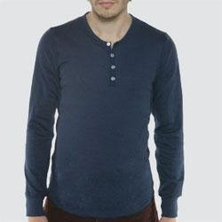American Apparel Thermal Henley - Buy American Apparel Thermal Henley - Purchase American Apparel Thermal Henley (American Apparel, American Apparel Mens Shirts, Apparel, Departments, Men, Shirts, Mens Shirts, T-Shirts, Mens T-Shirts)