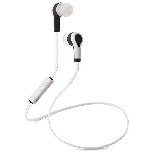 Auricolari Wireless Bluetooth 4.1 Headset Stereo Cuffie Sport con Microfono e AptX Headphone per iPhone 6s plus/6s, iPhone 5s/5c/5/4s, iPad, LG G2, Samsung Galaxy S6 Edge+/S6 Edge/S6/ S5/S4/S3, Note 4/Note 3/Note 2, Sony, Huawei ed altri Smartphone