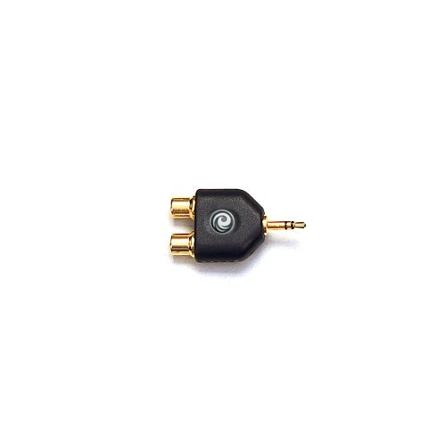 Planet Waves 1/8 Inch Male Stereo To Dual Rca Female Adapter