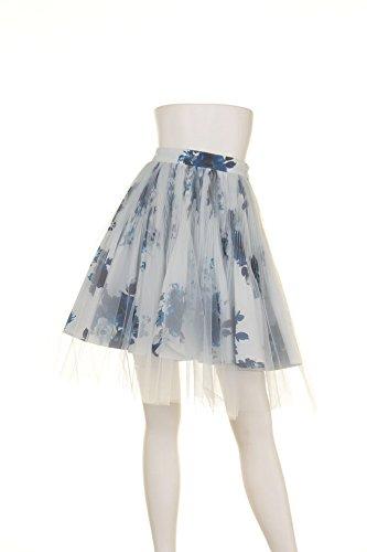 Amazon.co.jp: (スナイデル)snidel プリーツチュールSK SWFS152195 81 LBLU F: 服&ファッション小物通販